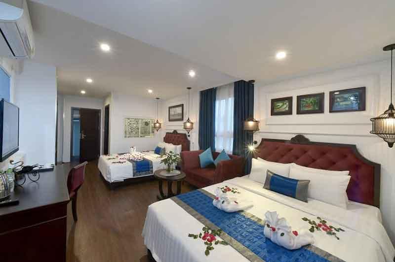 اتاق چهار نفره یا Quadruple Room