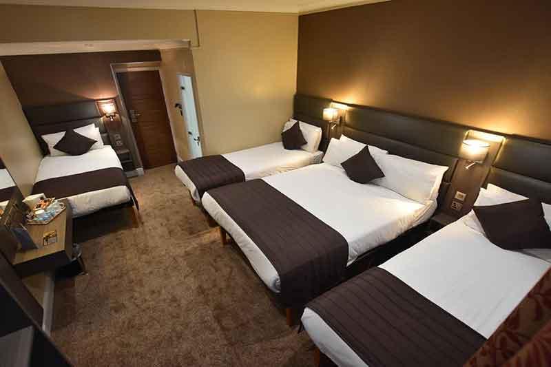 اتاق پنج نفره یا Quintuple Room