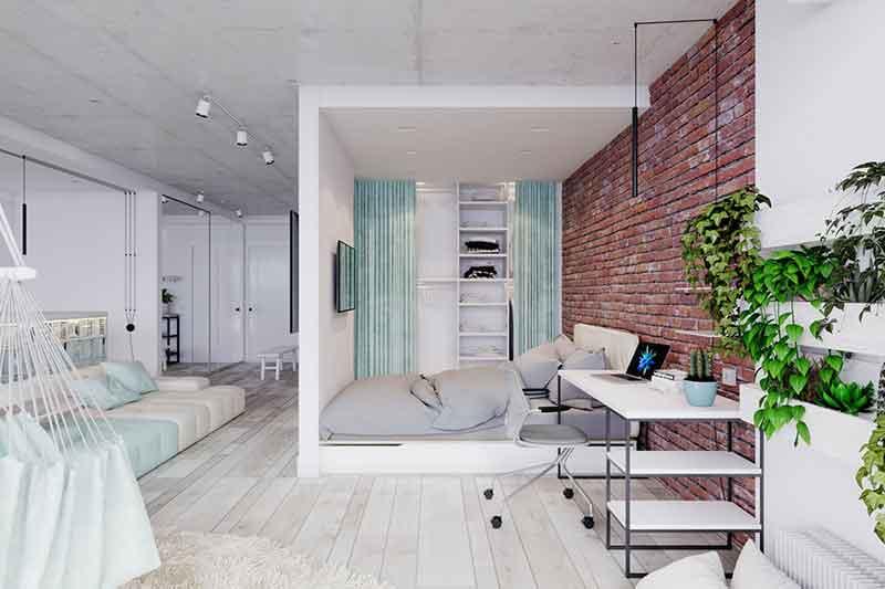 اتاق آپارتمان یا Apartment Room